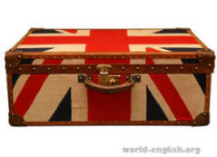 english word suitcase
